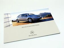 2006 Mercedes-Benz B-Class B 200 B 200 Turbo Brochure