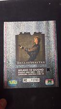 BIGLIETTO CONCERTO ticket DAVID BOWIE GLASS SPIDER TOUR MILANO 10 GIUGNO 1987