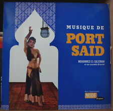 MUSIQUE DE PORT SAID MOHAMMED EL-SULIEMAN SEXY CHEESECAKE COVER FRENCH LP
