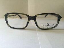 Marc Ecko Eyeglasses, Olive Horn, Brand New