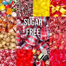 Sugar Free Diabetic Hard Boiled Sweets Candy 100g-1.2kg Many Flavours!