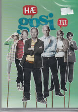 Hæ Gosi - 2 series Icelandic comedy series with English subtitles. Brand new.