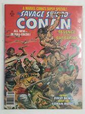 Marvel Comics Super Special (1977 Magazine) #2 Savage Sword of Conan 8.0 VF