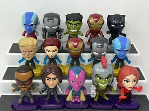 Marvel's Avengers McDonald Happy Meal Toys Lot of 15