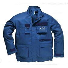 Portwest Workwear Mens Contrast Jacket XL TX10NARXL Navy