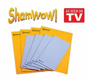 Shamwow Super Absorbent Towels Original Sham-wow from Germany 4x Large 4x Small