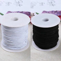 DIY Round Elastic Thin Mask Cord Craft Thread Stretch String Sewing Strap Rope