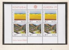"Portugal stamps 1977 "" Landscapes "" Block # 20 *Mnhpa"