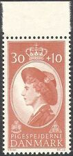 Denmark 1960 Girl Guides/Guiding/Scouting/Queen/Royalty 1v (n28006)