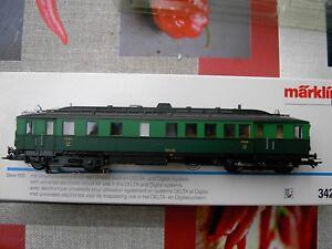 Märklin HO 3426 Dieseltriebwagen der belgischen Staats Eisenbahn