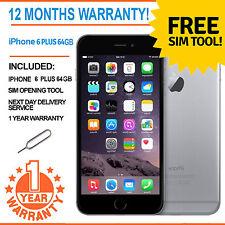 Apple iPhone 6 Plus 64 Go Usine Débloqué-Gris sidéral