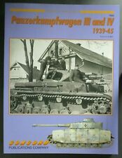 Concord Publications No. 7065 Panzerkampfwagen III & IV 1939-45 Pre Owned!