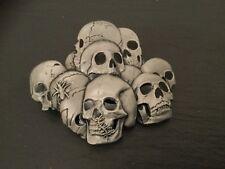 Multiple SKULL Pile New BELT BUCKLE Metal Skeleton Skulls Gothic Emo