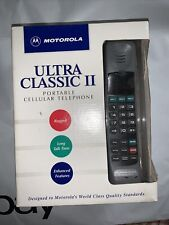 Vintage 1994 Motorola portable cellular Telephone Never Used Charger