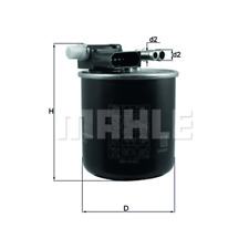 Filtro de Combustible - Mahle Pequeño 911