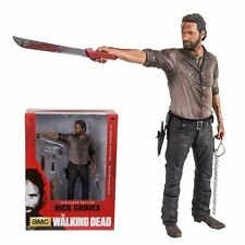 "THE WALKING DEAD TV SERIES  RICK GRIMES 10"" VIGILANTE DELUXE FIGURE (McFARLANE)"