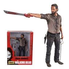 "The Walking Dead Tv Serie Rick Grimes 10 ""vigilante Deluxe Figure (mcfarlane)"