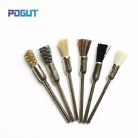 6pcs Grinding Polishing Brush Drill DREMEL Rotary Tool for Wood Jade Marble
