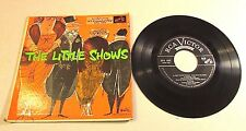 """1953 Soundtrack - Songs From The Little Shows 7"""" Vinyl 45 Mono RCA EPA-485"""