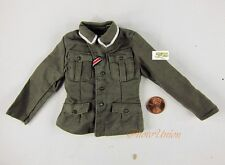 Dragon 1/6 Toy Figur WW2 German Officer Service Dress Green UNIFORM TUNIC DA144