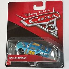 CARS 3 - BUCK BEARINGLY racer VIEW ZEEN TEAM -  Mattel Disney Pixar