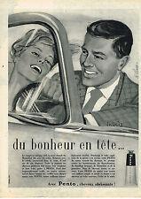 PUBLICITE ADVERTISING 045  1959  PENTO   brillantine