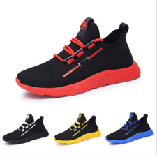 Men Women Breathable mesh Shoes knit Sports Running Shoes Athletic Unisex Shoes
