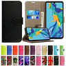 Case For Huawei P30 P20 Lite P40 Pro Genuine Leather Flip Wallet Magnetic Cover