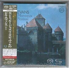 Sealed! BILL EVANS Montreux Jazz JAPAN DSD SHM-SACD UCGU-9012 w/OBI+CARD SLEEVE