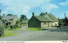 Leicestershire - Newtown Linford, Main Street - Vintage Postcard