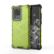 Samsung Galaxy S20 Ultra Honeycomb TPU Bumper/ PC  Hard Cover Design