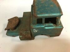 VINTAGE 1960S STRUCTO SEMI TRACTOR TRUCK PRESSED STEEL TOY PARTS OR RESTORE