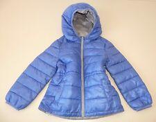 XXS 100cm 3 4 Jahre Benetton Steppjacke LEICHT Jacke Kapuze Parka Blau Kinder