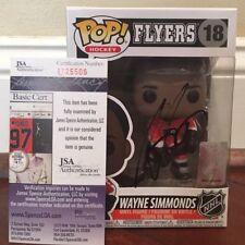 Wayne Simmonds Autographed Signed NHL Pop Funko Philadelphia Flyers JSA COA