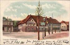 Leipzig-Eutritzsch - Gosen-Schänke, farb. AK von 1901