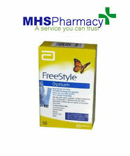 FreeStyle Optium Blood Glucose Test Strips Pack of 50