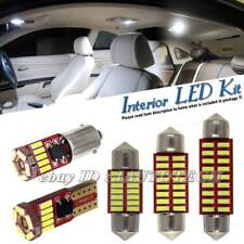 WHITE Interior UPGRADE LED BULBS Light Kit Set For PORSCHE CAYENNE 955 957 2003-