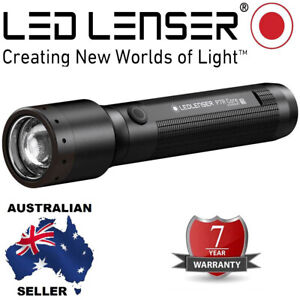 NEW 2020 Model Led Lenser Rechargeable P7R CORE Torch 7 year Wty 1400 Lumens