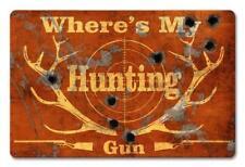 Buck Deer Hunting Metal Sign Man Cave Garage Body Shop Cabin Barn Shed Lodge 4