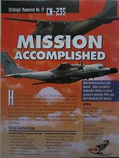 11/1997 PUB IPTN CASA CN-235 MIL MPA MILITARY TRANSPORT MARITIME PATROL AD