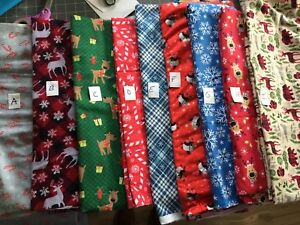 Christmas Male Belly Bands Dog Flannel Fabrics Carol's Crate Covers