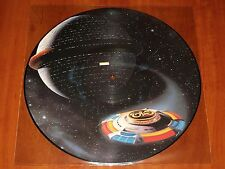 """ELECTRIC LIGHT ORCHESTRA TICKET TO THE MOON 12"""" PICTURE DISC VINYL UK 1981 ELO"""