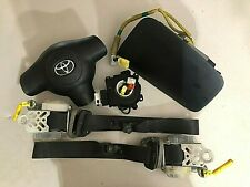 TOYOTA RAV4 AIRBAG AIR BAG SET SEAT BELTS & CLOCK SPRING