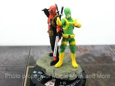 Deadpool  DEADPOOL and BOB #49 + Word Balloon W007 HeroClix super rare mini #049