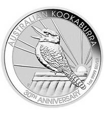 Silbermünze Australien 1 oz Kookaburra 2020 - 30 Jahre Jubiläum