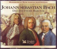 Johann Sebastian Bach -  Reader's Digest   3 CD Box