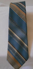 JACQUES PIERRE TIE MENS NECKTIE POLYESTER BLUES MADE IN THE USA