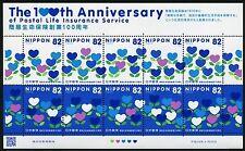 Japan 2016 Lebensversicherung der Post Postal Life Insurance Service Herzen MNH