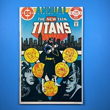 NEW TEEN TITANS Annual #2 1st Vigilante, Cheshire, Lyla Michaels DC Comics 1983