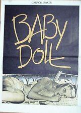 Affiche BABY DOLL (Caroll Baker / Kazan) 54x40 cm